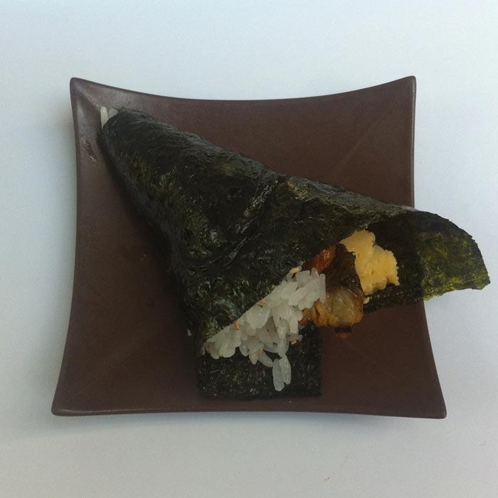 "Unagi Tamago ""anguille grillée, omelette"""